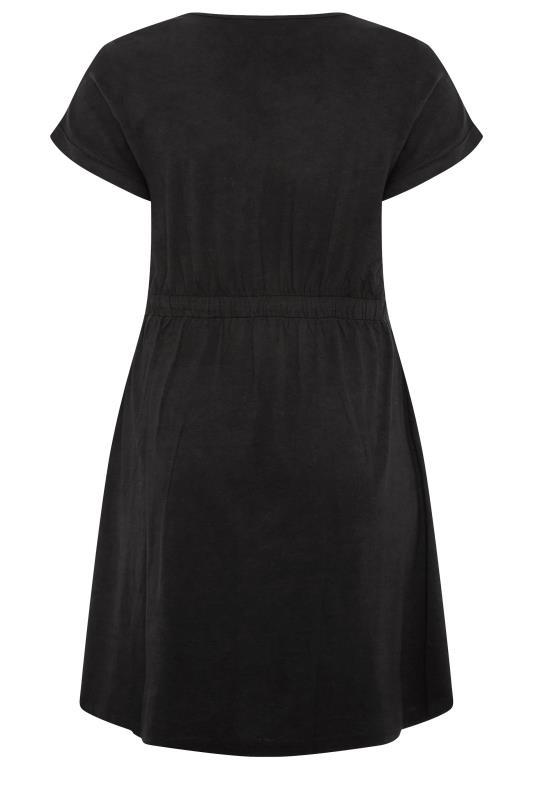 Black Jersey T-Shirt Mini Dress_BK.jpg