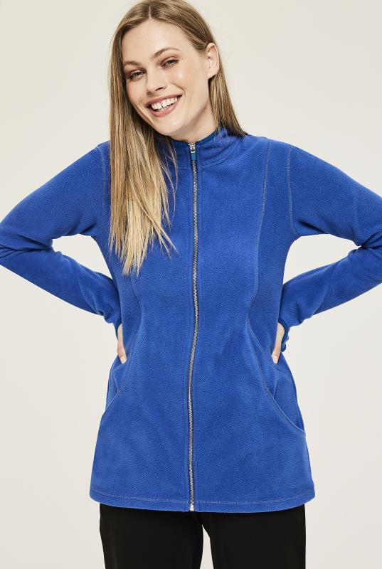 Stand Collar Micro Fleece