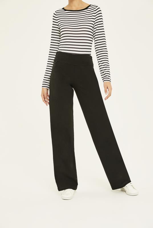 Tall Trousers Wide Leg Yoga Pant