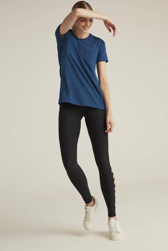 Tall T-Shirts MPG X LTS Romp Laser Cut Sports Top