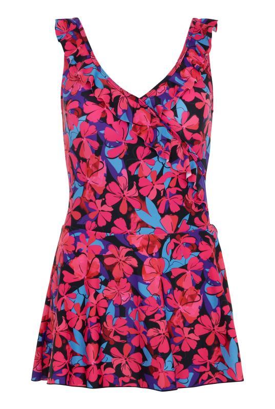 Hibiscus Skirted Swimsuit
