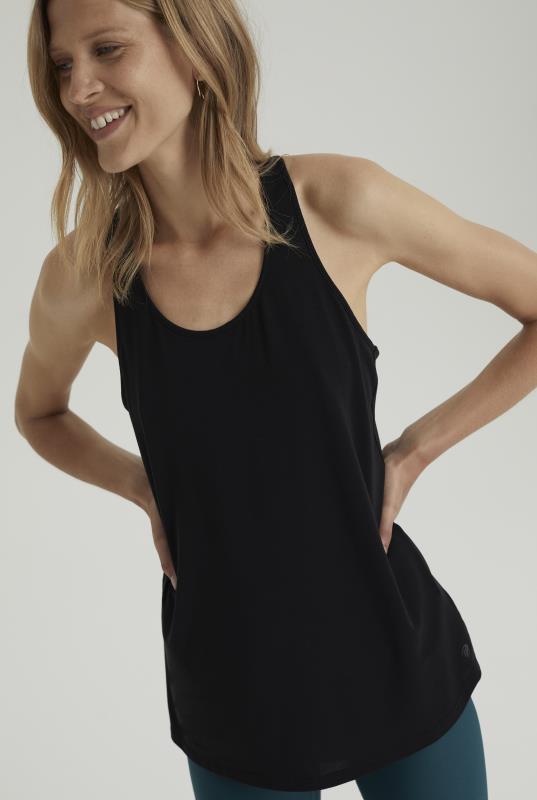 Tall T-Shirts MPG X LTS Black Vest Top