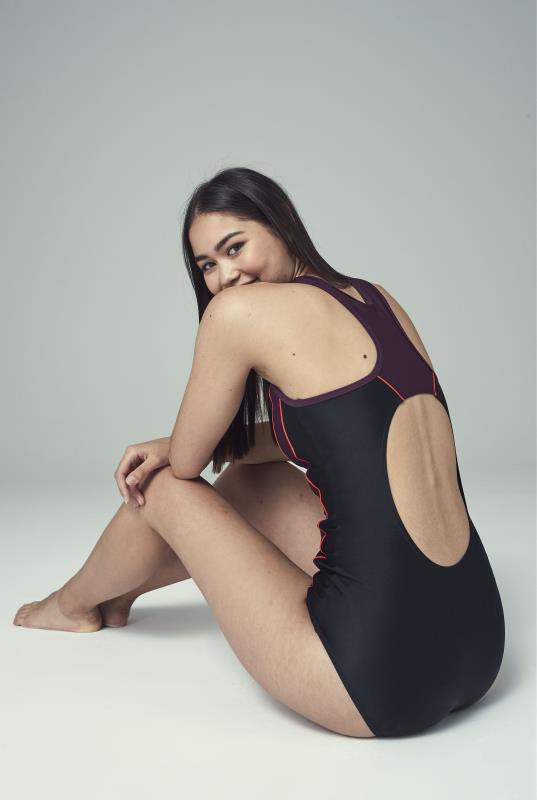Black Active Shaper Swimsuit