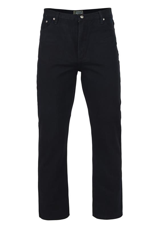 Men's  KAM Black KBS 150 Straight Leg Jeans