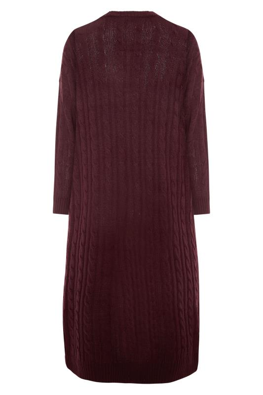 Berry Cable Knitted Maxi Cardigan_BK.jpg