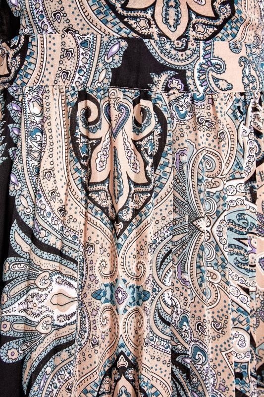 LTS Natural Paisley Print Long Sleeve Pleat Dress_S.jpg
