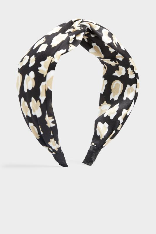 Black Satin Leopard Twist Headband_F.jpg