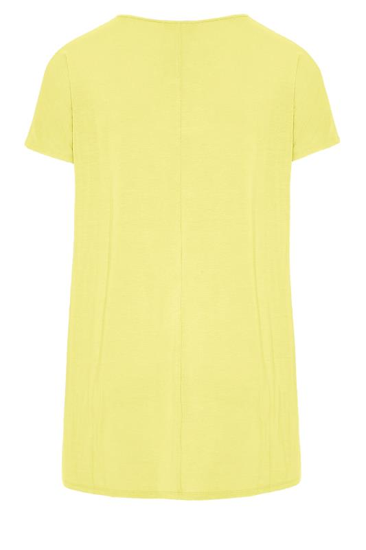 LTS Yellow Soft Touch Grown On Sleeve T-Shirt_bk.jpg