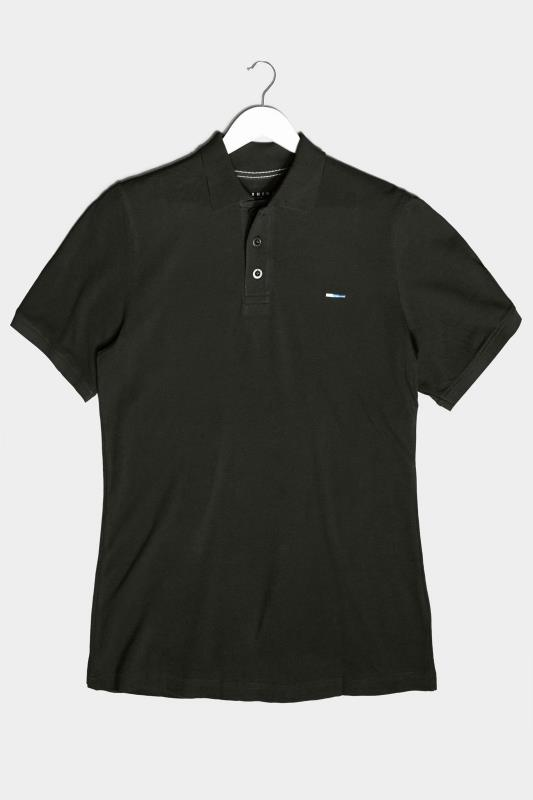 Men's  BadRhino Black Essential Polo Shirt