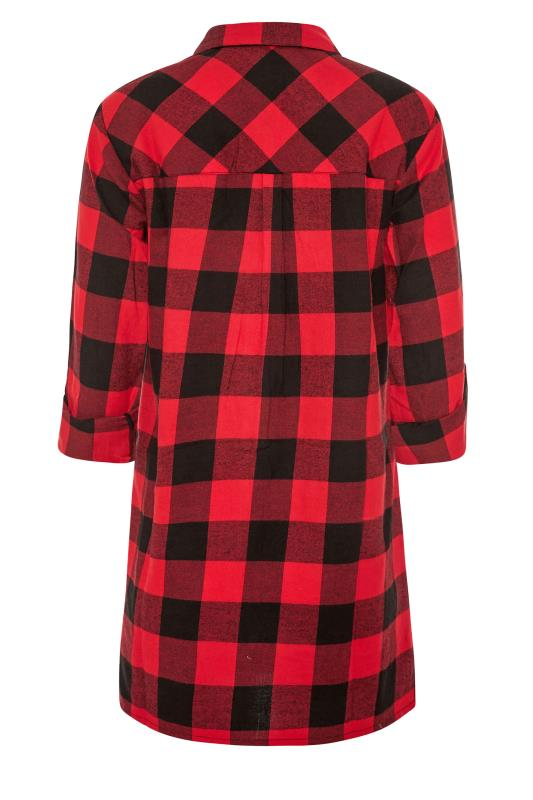 LTS Red Check Boyfriend Shirt_BK.jpg