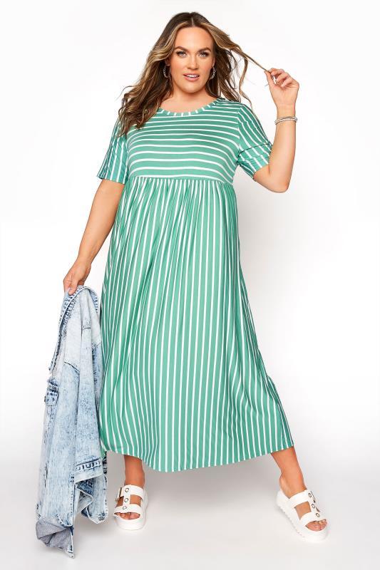 Emerald Green Stripe Dress_B.jpg