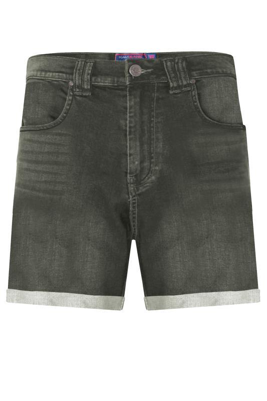 Kam Dark Wash Denim Stretch Shorts