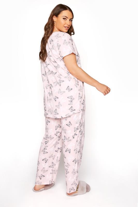 Blush Pink Summer Butterfly Pyjama Set_C.jpg
