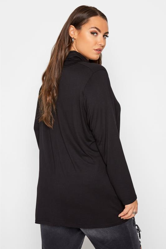 LIMITED COLLECTION Black Turtle Neck Top_C.jpg