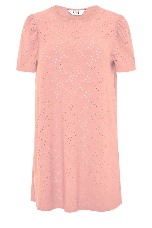 LTS Rose Pink Broidery Puff Sleeve Top_F.jpg