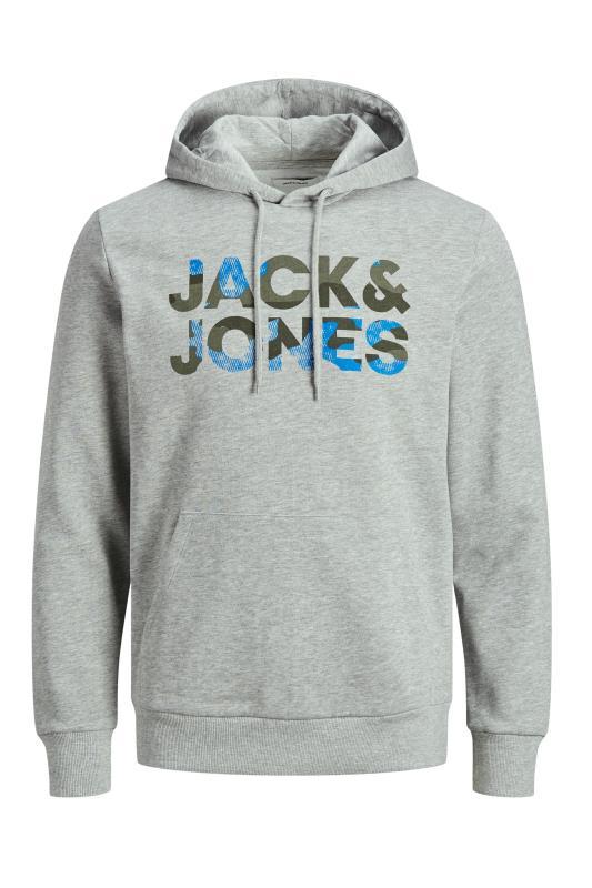 JACK & JONES Grey Logo Hoodie_F.jpg