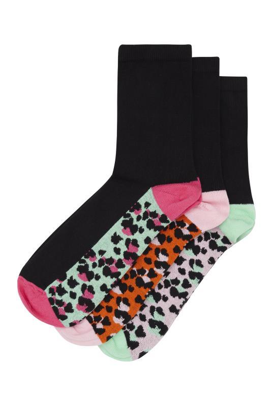 Tall Socks 3 Pair Cotton Ankle Socks