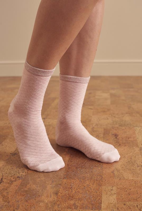 3 Pair Cotton Ankle Socks