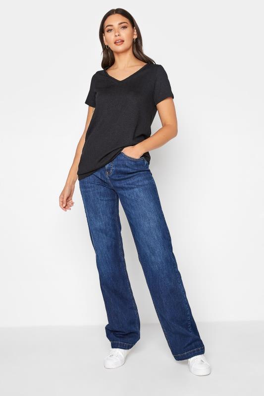 LTS Black V-Neck T-Shirt_B.jpg