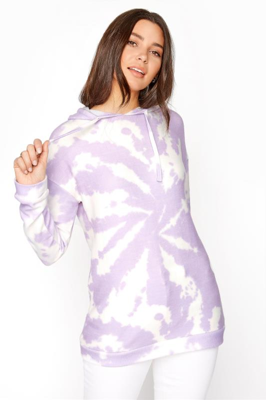 LTS Lilac Tie Dye Soft Touch Hoodie