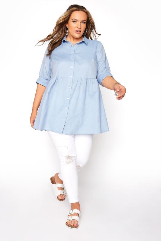 Light Blue Chambray Peplum Shirt_B.jpg