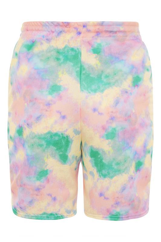 Multi Tie Dye Sweat Shorts_bk.jpg