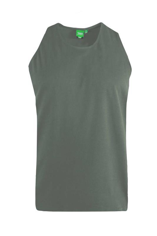 Men's  D555 Khaki Muscle Vest
