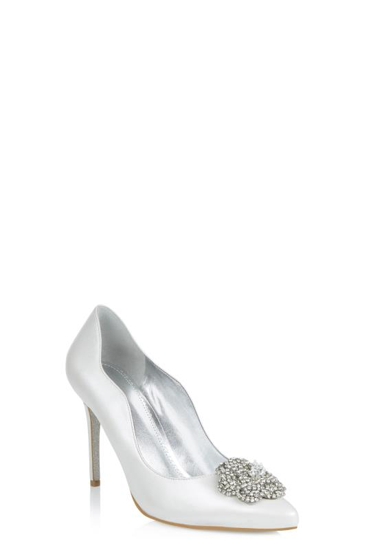 Tall Courts Silver Nine West Elizza Heel