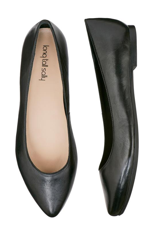 LTS May Leather Ballerina