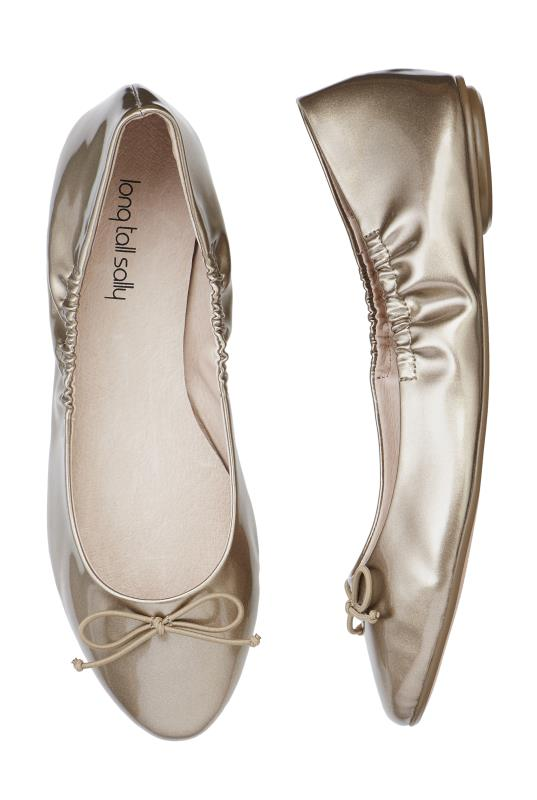 Gold Mimi Flexible Ballerina