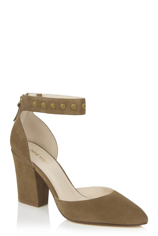 Tall Shoes Nine West Sharmain Studded Leather Court