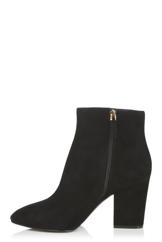 Black Nine West Savitra Block Heel Boot