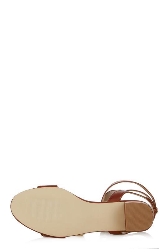 LTS Lila Strappy Block Heel Sandal