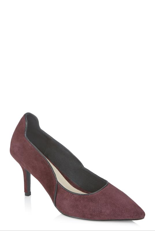 LTS Berry Kayla Wavy Leather Court