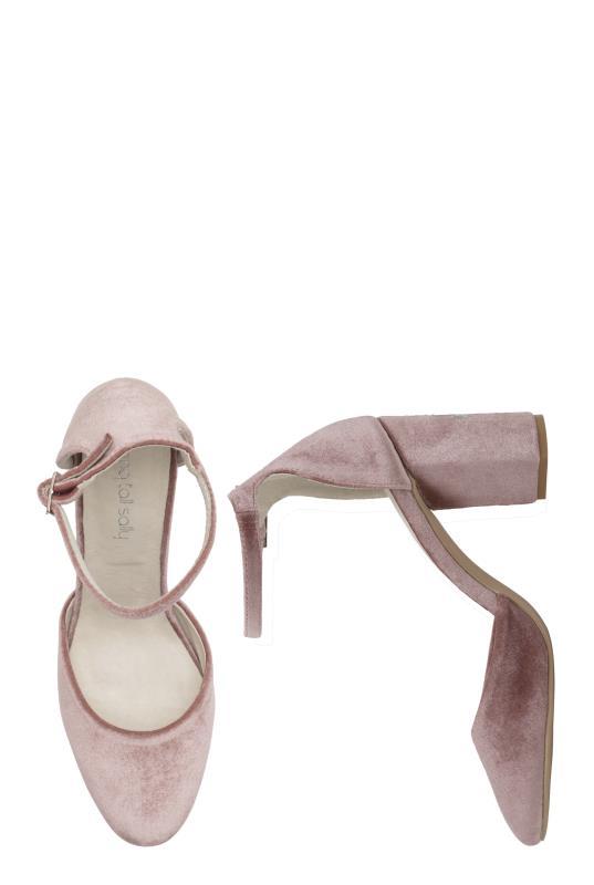 LTS Pink Ellie Embroidered Heel