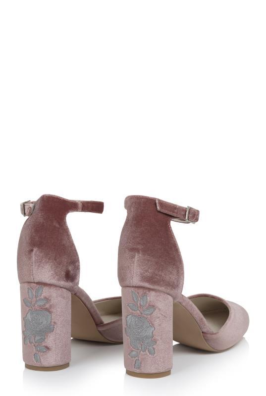 LTS Ellie Embroidered Heel
