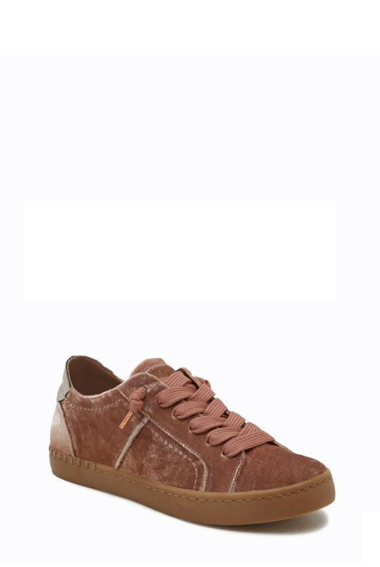 Pink DV Zalen Suede Sneakers