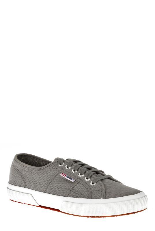 Tall  Grey Superga Cotu Classic Sneakers