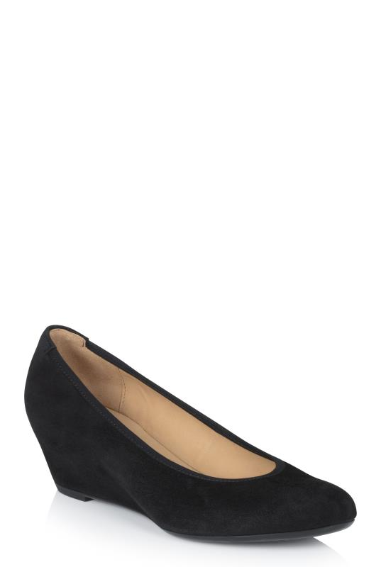 Tall Shoes Gabor Fantasy Suede Wedge
