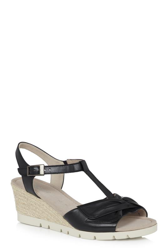 Tall Sandals Gabor Grantchester Knot Detail Wedge