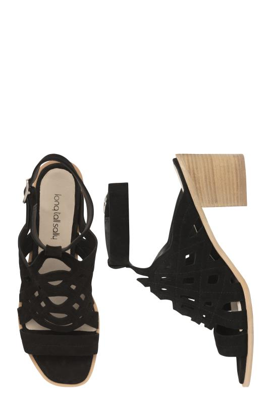 LTS Liv Suede Cut Out Detail Sandal
