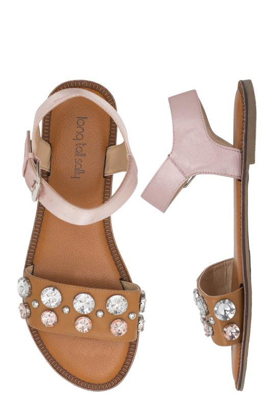 LTS Brianna Beaded Two Part Sandal