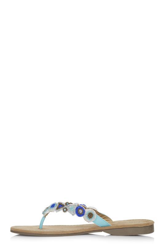 Blue Mustang Beaded Sandal_2.jpg