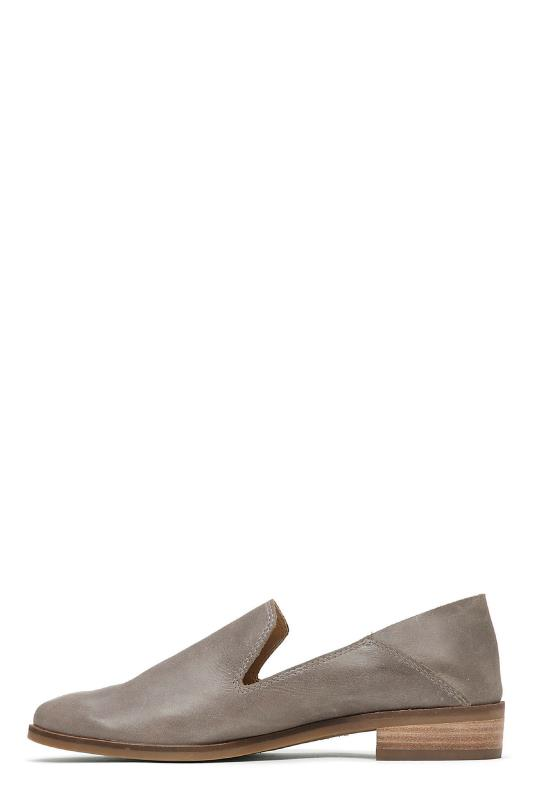Grey Lucky Brand Cahill Flats Loafer Shoes