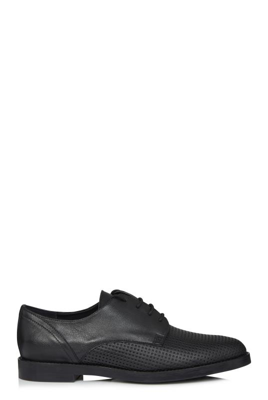 Black Perforated Brogue