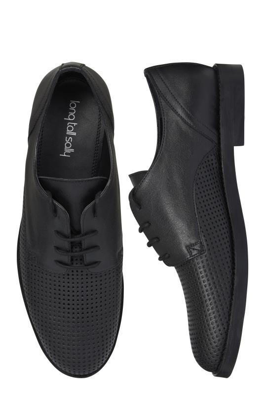 Black Perforated Brogue