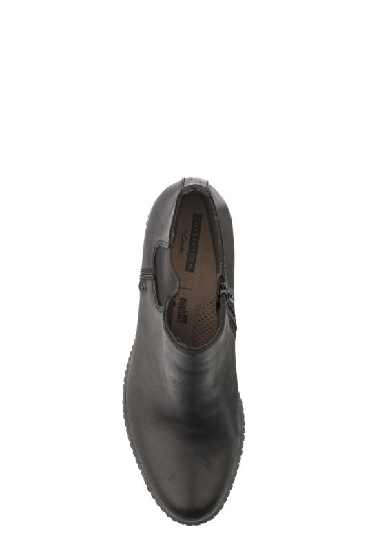 CLARKS Black Hazen Flora Ankle Boots_3.jpg