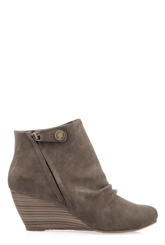 Blowfish Brown Berkeley Ankle Boots