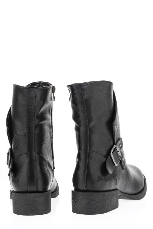 BLOWFISH Black Mid Boots