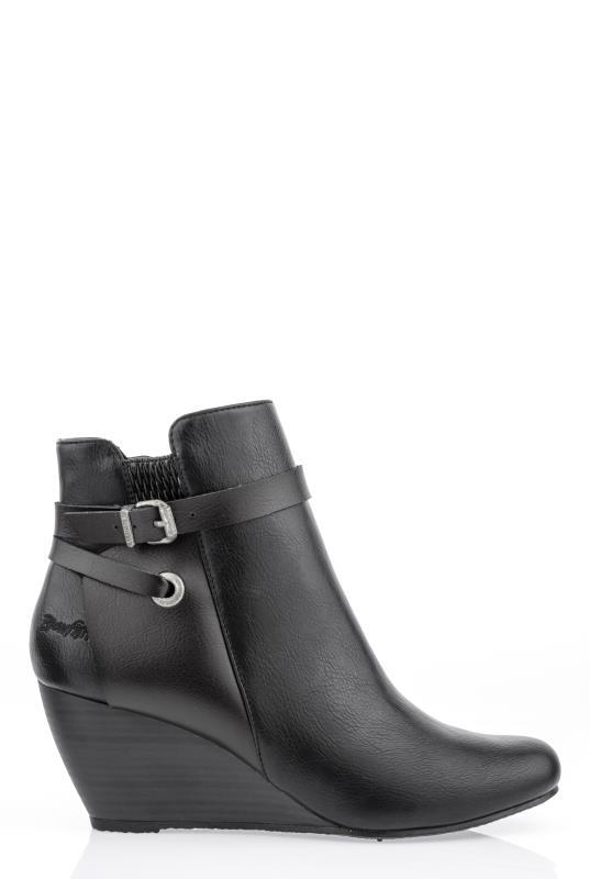 Tall Boots Black Blowfish Batik Ankle Boots